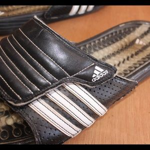 ADIDAS vintage leather slides